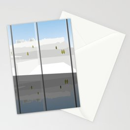 A Day at the Acropolis Museum of Athens Greece Stationery Cards
