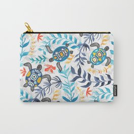 Gouache Sea Turtle Serenity Carry-All Pouch