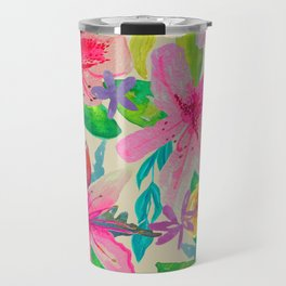 Azalea Garden // Natural Travel Mug