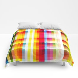 classic multicolored retro pattern Comforters