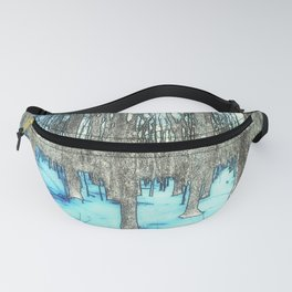 Path through the Snow Fanny Pack
