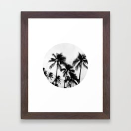 Palms 2 Framed Art Print