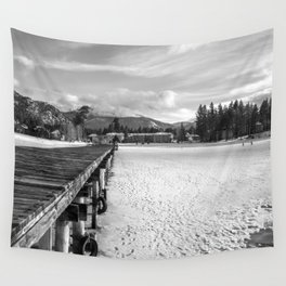 White Tahoe Wall Tapestry