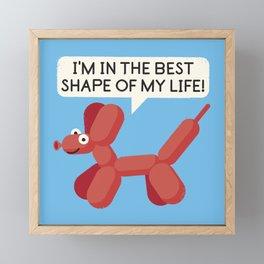 Inflated Ego Framed Mini Art Print