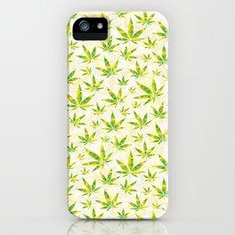 Weed OG Kush Pattern iPhone Case