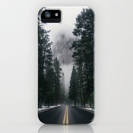 Forest Way iPhone Case