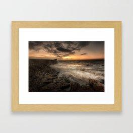 Good morning Porthcawl Framed Art Print