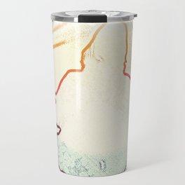 Floating Cobain Travel Mug