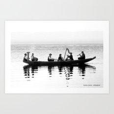 6 bayern auf dem Ammersee Art Print