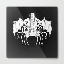 Face of Cthulhu Metal Print