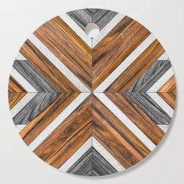 Urban Tribal Pattern 4 - Wood Cutting Board