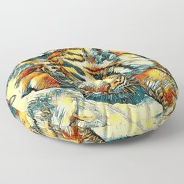 AnimalArt_Tiger_20170606_by_JAMColorsSpecial Floor Pillow