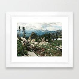Utah Alpine Framed Art Print