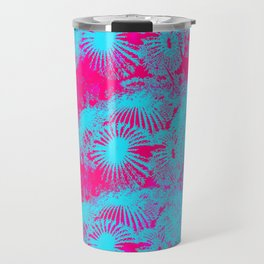 Dayglow Cactus  Travel Mug