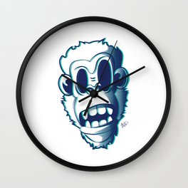 Pendemonium Gorilla by Madelyn DiPasquale Wall Clock