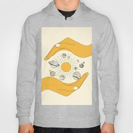 The Universe in Your Hands Hoody