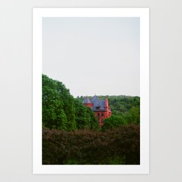 House in the Trees Art Print