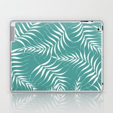 White Leaves Laptop & iPad Skin