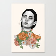 You Can Find Me In Spring Canvas Print