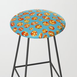 Gemstone Field Bar Stool