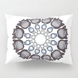 Anime Mandala Pillow Sham