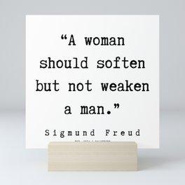 16 |   Sigmund Freud Quotes | 190926 Mini Art Print