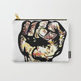 Resist with Art  by Eric Stamps  Carry-All Pouch