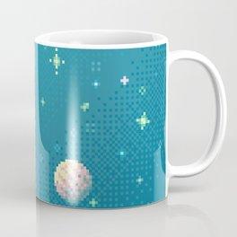 Brain Planet (8bit) Coffee Mug