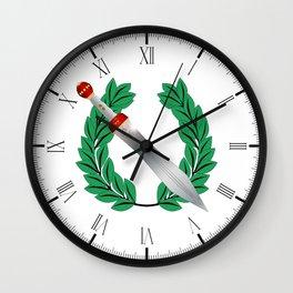 Wreath Winner Wall Clock