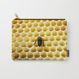 Geometric Bee Carry-All Pouch