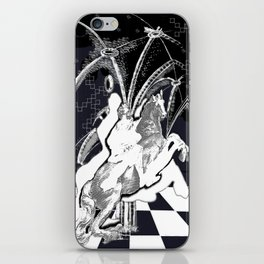 ghost rider shadow iPhone Skin
