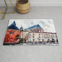 Cracow art 21 #cracow #krakow #city Rug
