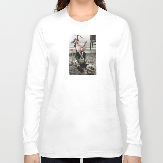 PigBaby Collage Long Sleeve T-shirt