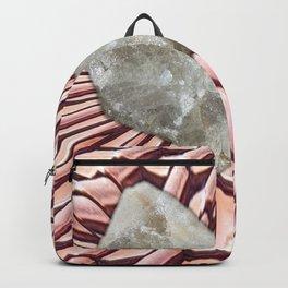 Rock crystal rain Backpack