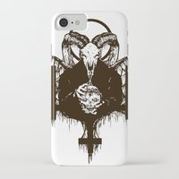 satan iPhone & iPod Cases featuring Satan by Lunaramour