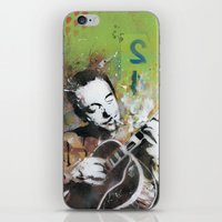 django iPhone & iPod Skins featuring Django by MATEO