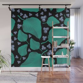 Patterns Floral Design Wall Mural