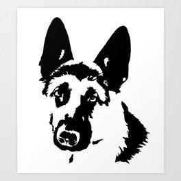 German Shepherd Dog Gifts Art Print