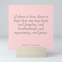 124   | Dalai Lama Quotes 190504 Mini Art Print