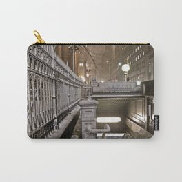 Wall Street - Snow - New York Photography  Carry-All Pouch
