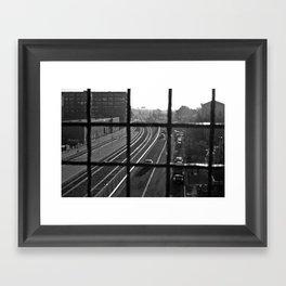 Dirty Oakland Framed Art Print