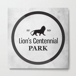 Lion's Centennial Park Metal Print