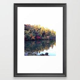 紅葉 Autumn Leaves  Framed Art Print