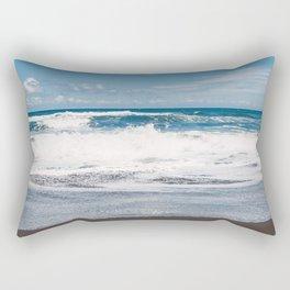 Rocking ocean Rectangular Pillow