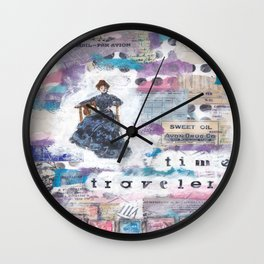 Time Traveler X Wall Clock