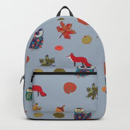 Fall Animal Party Backpack