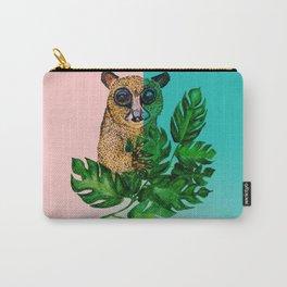 Cute Lemur Watercolor Carry-All Pouch