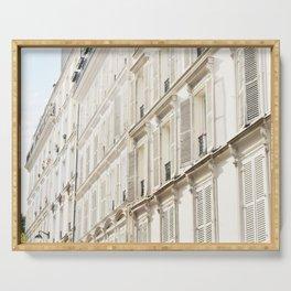 Grande facade de Paris Serving Tray