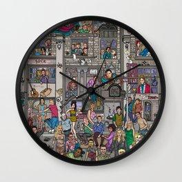 Cultural heroes Wall Clock