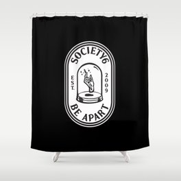 Be Apart Shower Curtain